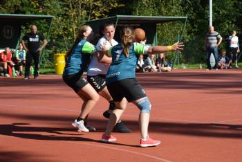 První ligu národních házenkářek hraje 22 týmů a tentokrát se hrál duel Modřany - Ejpovice 18:16