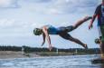 V nabité račické triatlonové konkurenci dosáhl Jan Volár dvou úspěchů