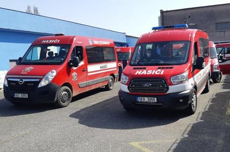 Kraj podpoří nákup 47 hasičských dopravních automobilů